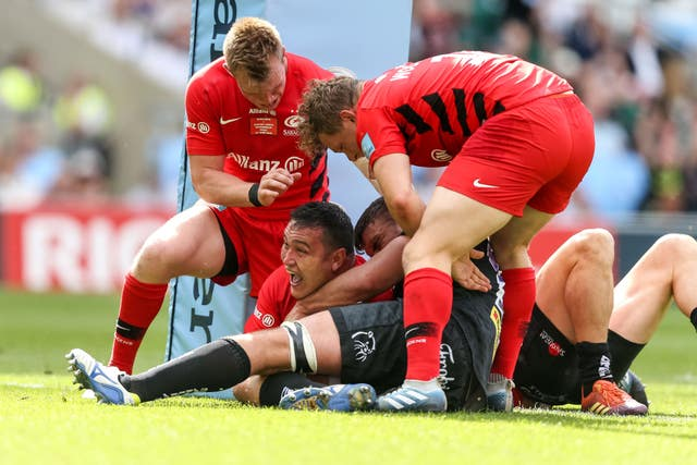 Saracens have beaten Exeter in the past two Premiership finals