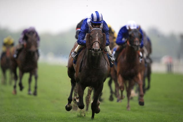 Tasleet on his way to victory in last year's Duke of York Stakes
