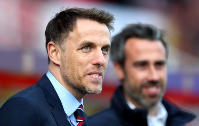 England boss Phil Neville will have been pleased with the display