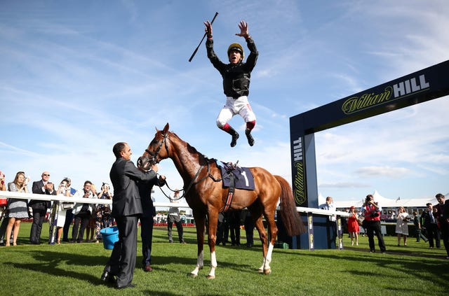 Dettori is looking forward to teaming up with Stradivarius on Friday
