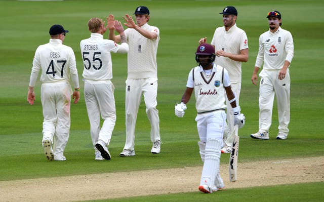 Stokes dismissed Brathwaite