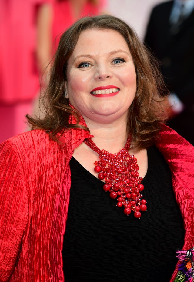 Joanna Scanlan at a premiere