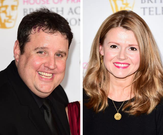 Peter Kay and Sian Gibson co-wrote and starred as John and Keyleigh in Car Share