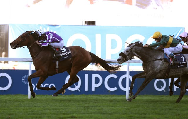 Magical was a winner at Ascot on British Champions Day