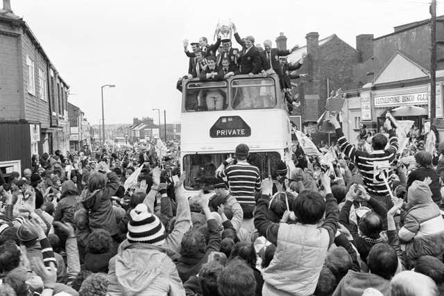 Rugby League – Challenge Cup – Featherstone Rovers Victory Parade – West Yorkshire