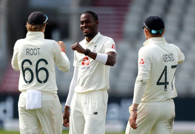 Jofra Archer was on a hat-trick