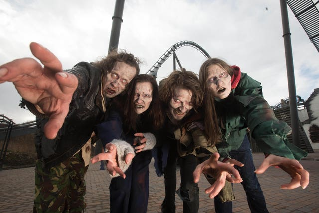 The Walking Dead at Thorpe Park