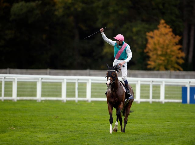 James Doyle celebrates with Noble Mission