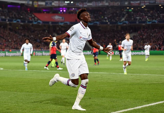 Tammy Abraham has been in fine goalscoring form for Chelsea