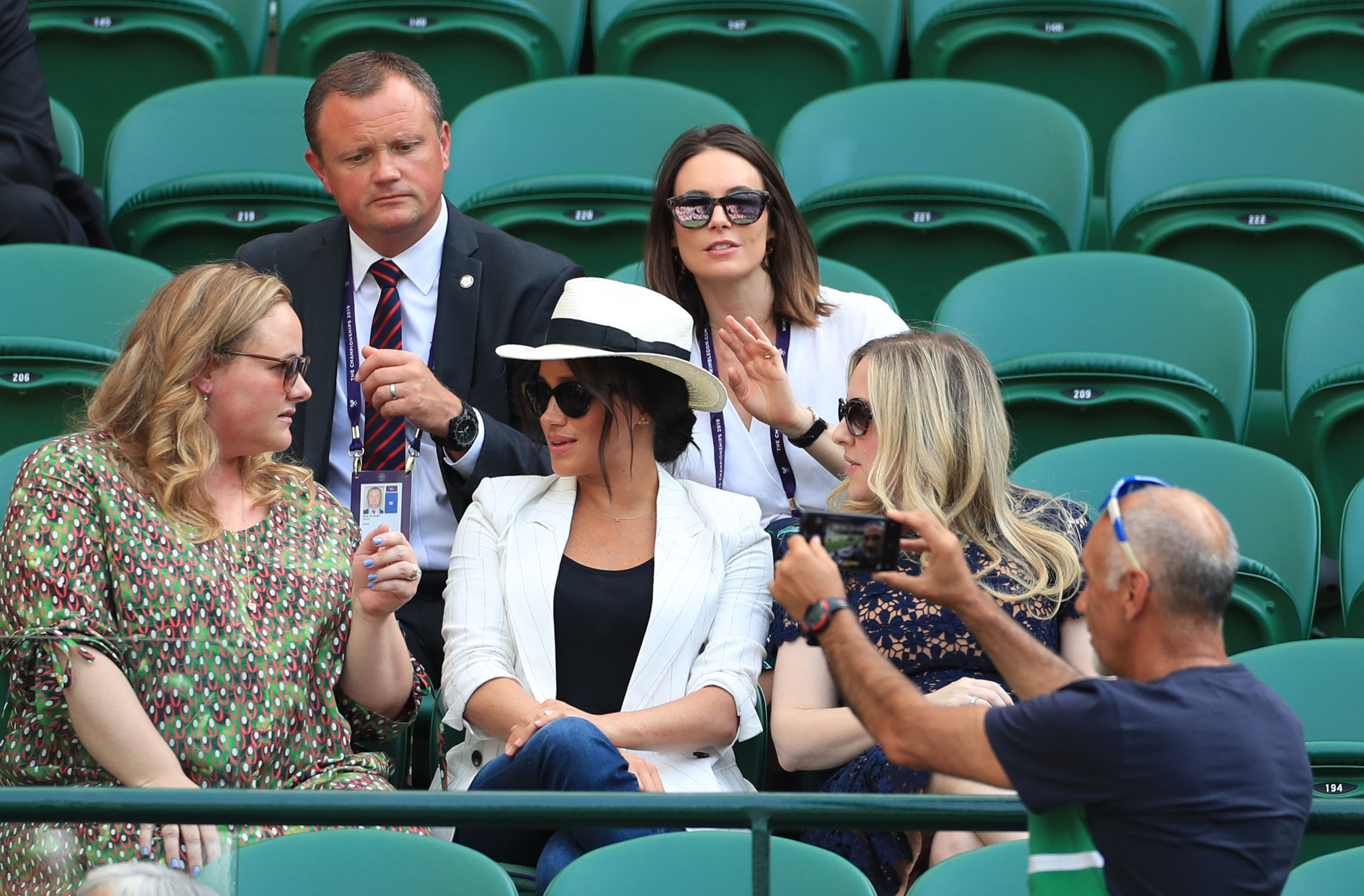 Kate Middleton and Meghan Markle together for Wimbledon ladies final