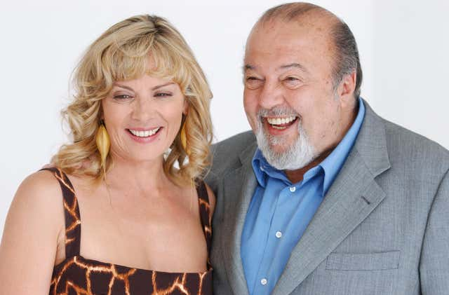 Kim Cattrall and Sir Peter Hall