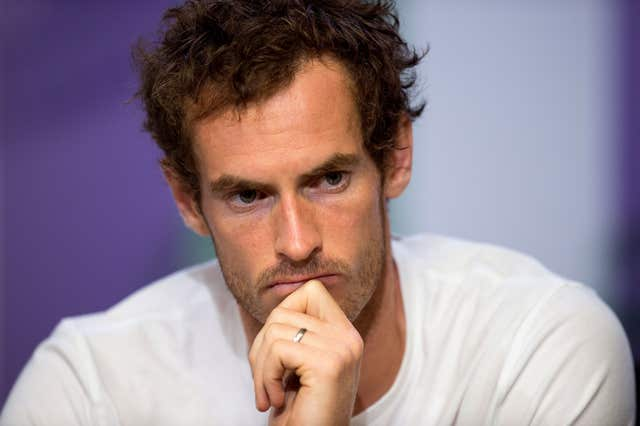 Andy Murray previously said he would retire this year