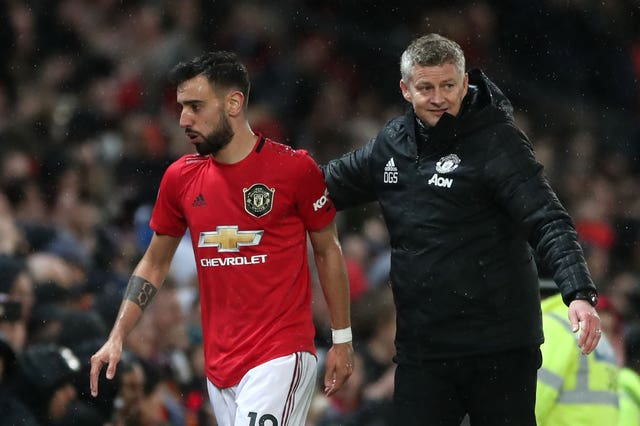 Manchester United's Bruno Fernandes enjoyed a great start to life at Old Trafford after joining from Sporting Lisbon