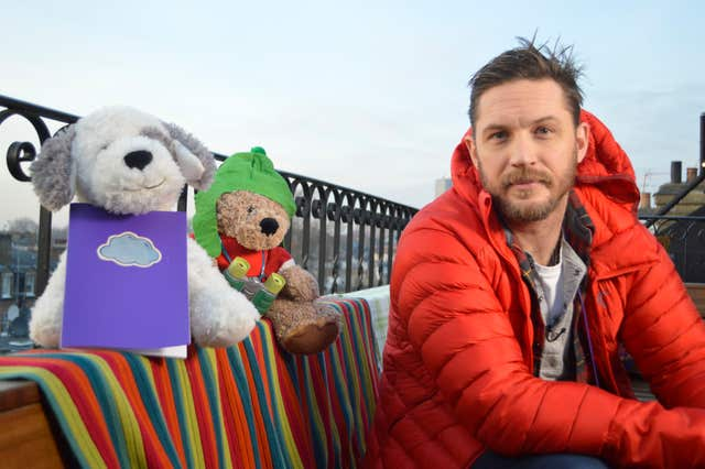 Tom Hardy on CBeebies (BBC)