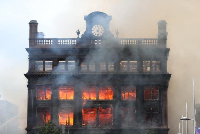Belfast Primark fire cordon 'totally unacceptable' in run-up