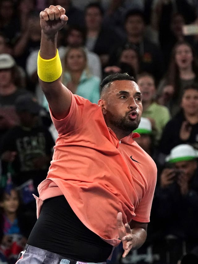Nick Kyrgios will hope to be celebrating again