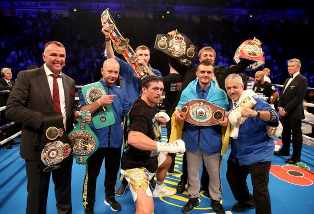 """Oleksandr Usyk v Tony Bellew - Manchester Arena «data-title =» Oleksandr Usyk v Tony Bellew - Manchester Arena «data-copyright-notice =» PA Wire «PA-Wire / PA Images« «Nick Potts» data-use = """"srcset ="""" https://image.assets.pressassociation.io/v2/image/production/314ae7ceed86c371a944bbaa7cc38c33Y29udGVudHNlYXJjaCwxNTQxOTg1MTcy/2.39632653.jpg?w=320 320w, https: // image. assets.pressassociation.io/v2/image/production/314ae7ceed86c371a944bbaa7cc38c33Y29udGVudHNlYXJjaCwxNTQxOTg1MTcy/2.39632653.jpg?w=640 640w, https://image.assets.pressassociation.io/v2/image/production/314ae7ceed86c371a944bbaa7cc38c33Y29udGVudHNlYXJjaCwxNTQxOTg1MTcy/2.39632653.jpg?w=1280 54vp, max-width: 1071px) 543px, 580px   <figcaption>Alexander Oski Tony Bell (Nick Potts / PA)</figcaption></figure> </div> <p>Wins gradually set his priorities and stopped his opponent for one or two weeks, raising an excruciating argument that the referee, Terry O'Connor, stepped out of the two-minute eighth round.</p> <p>He retained his WBC, WBA, IBF and WBO titles in 200 liters and can now be a heavyweight scene – especially with Anthony Joshua.</p> <p>The emotional Bellou told BBC Radio 5: """"I gave everything, it's a special champion. Everything I'm scared of. He's been fighting the best.</p> <p>""""I had a great plan, I saw my work, but it was not good. It is so difficult and inconvenient that it puts pressure on the tap, tap, tap, then squeezes it. It reassures you and is much more than you think.</p> <p>""""It's probably the best cruise we've ever had. It's either (Evander) Hollifille, and I deserved to see a fight.</p> <p>""""The pains get worse, the big shot, and I do not know if I can harm her. It's even better than boxing.</p> <p>""""This is my last visit. I've been doing this for 20 years, and now it's over. """"</p> <div class="""