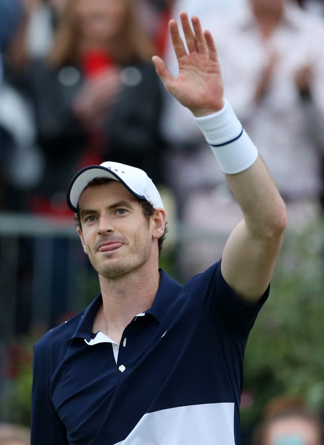 Andy Murray has not played since November