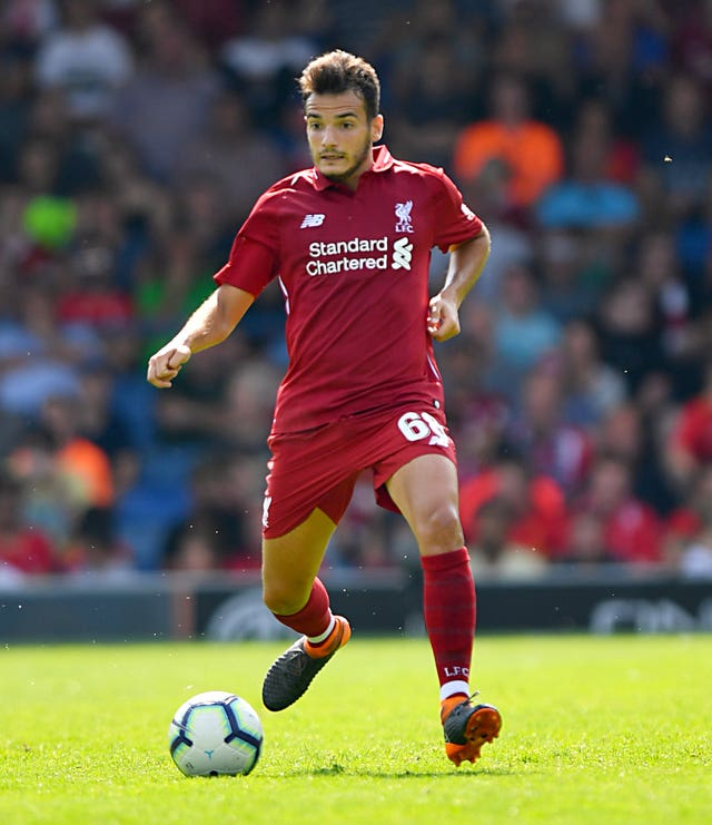 Liverpool have been fined after Pedro Chirivella played in the Carabao Cup