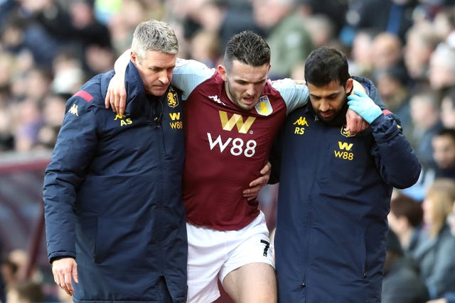 John McGinn is one of several injury doubts for the Israel game
