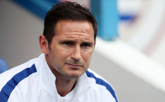 Frank Lampard will be in the Chelsea dugout