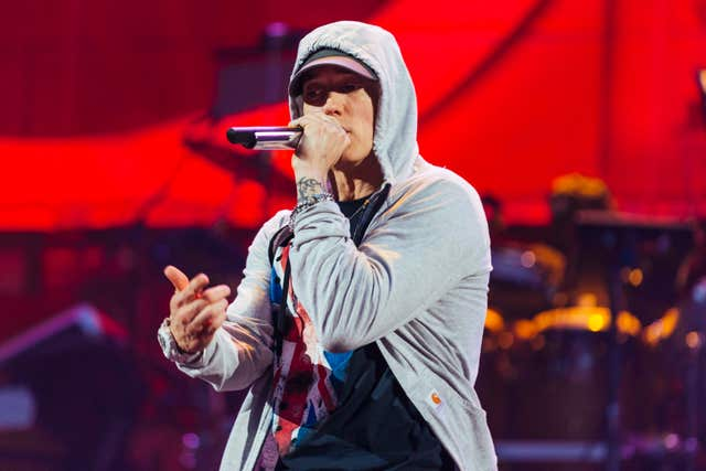 Eminem on stage (Jeremy  Deputat)