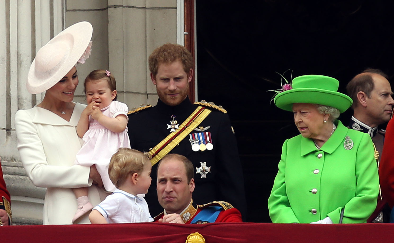 Prince Harry drops to sixth place in line to the throne