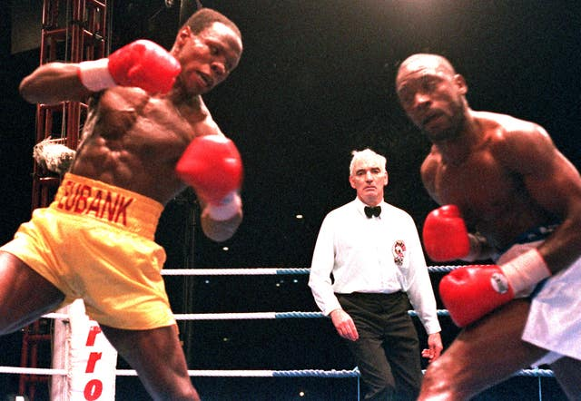Benn had a long-standing rivalry with Chris Eubank during his original career