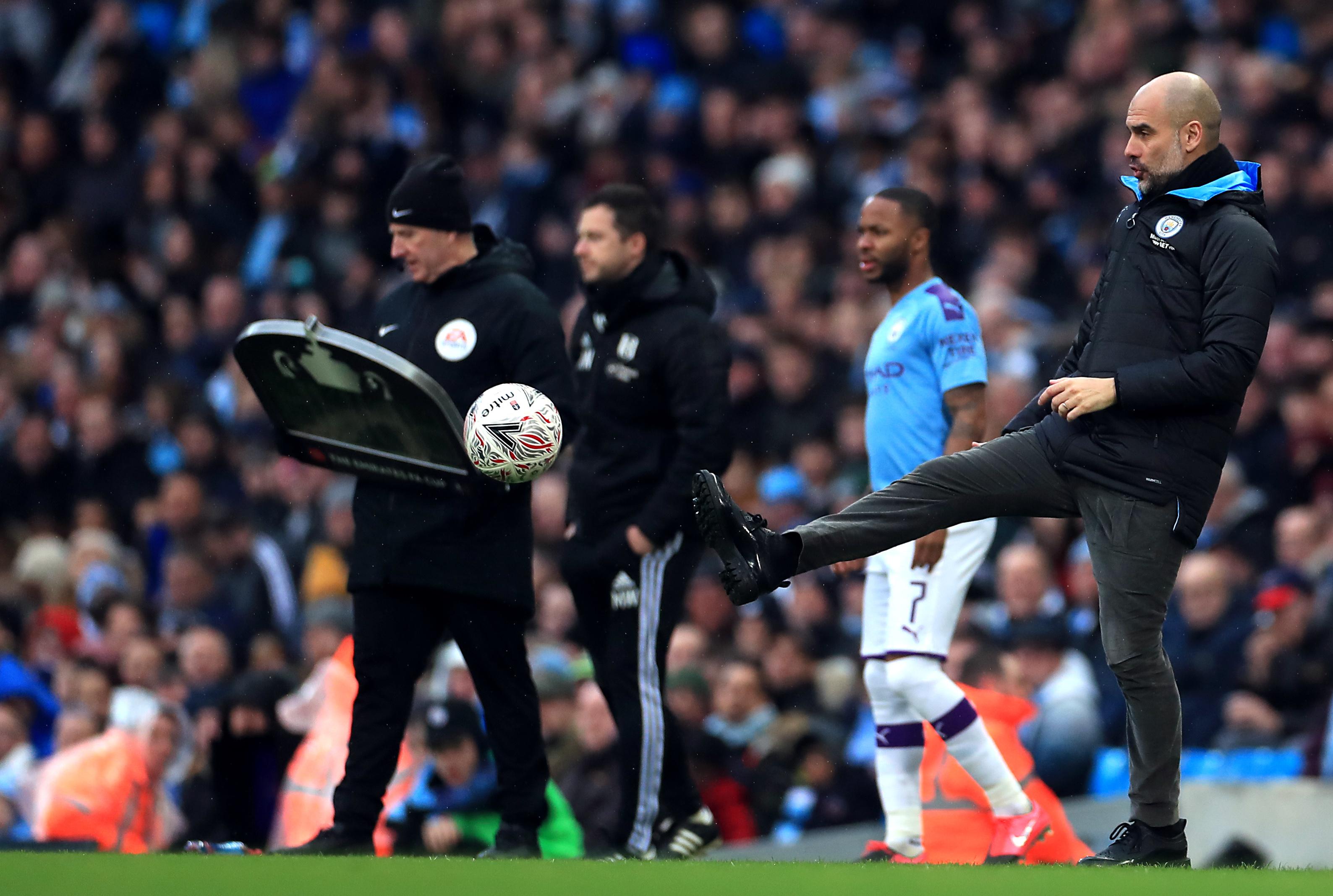 Manchester City boss Guardiola provides update on Mahrez's injury