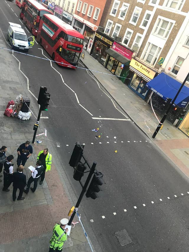 Hackney cycle hit-and-run