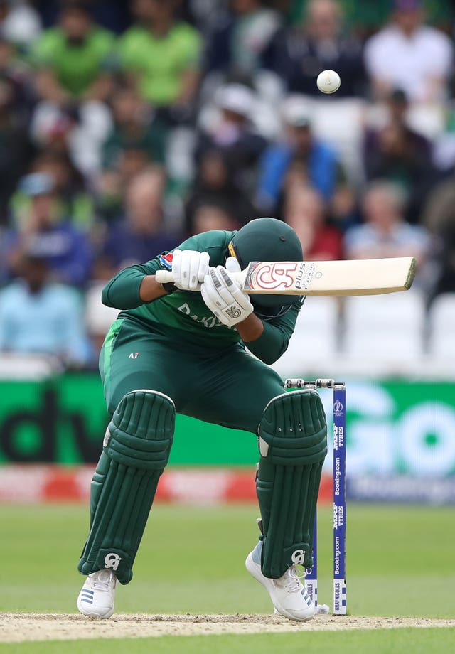 Pakistan struggled to cope with West Indies' aggressive attack