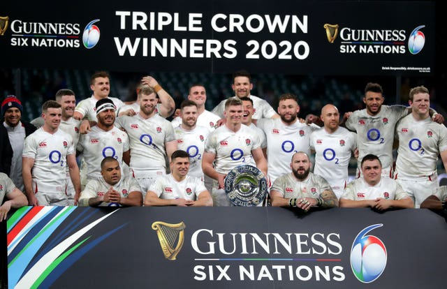 England clinched the triple crown with victory
