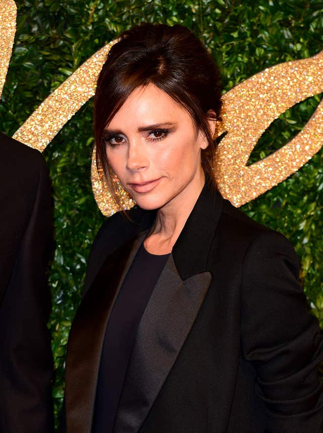 The Sun reported fashion designer Victoria Beckham will not sing if the band reunites (Ian West/PA)