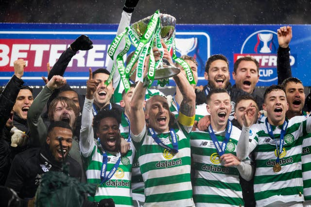 Celtic won this season's Betfred Cup