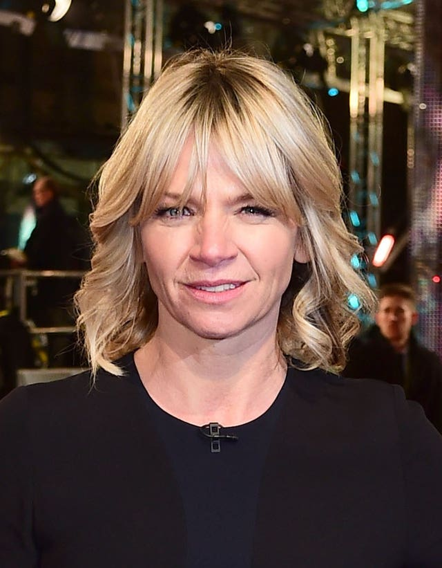 Zoe Ball said last month she is