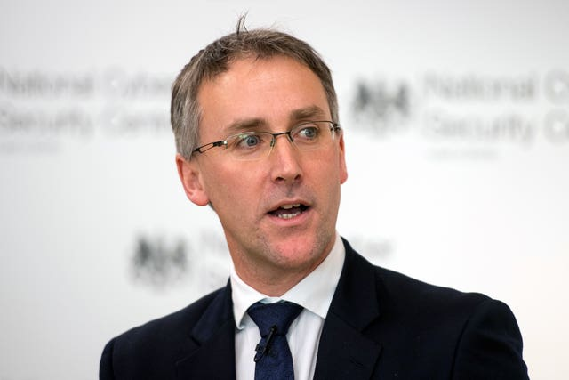 Ciaran Martin of the National Cyber Security Centre  (Dominic Lipinski/PA)