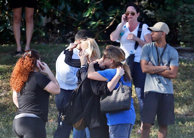 School Shooting Florida (Wilfredo Lee/AP)