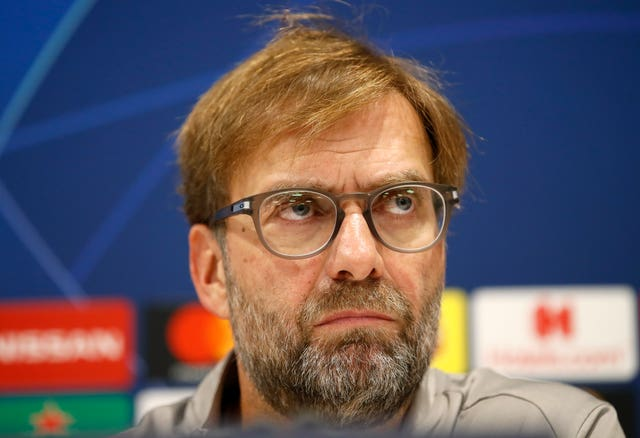Jurgen Klopp was in no mood to talk about Manchester City