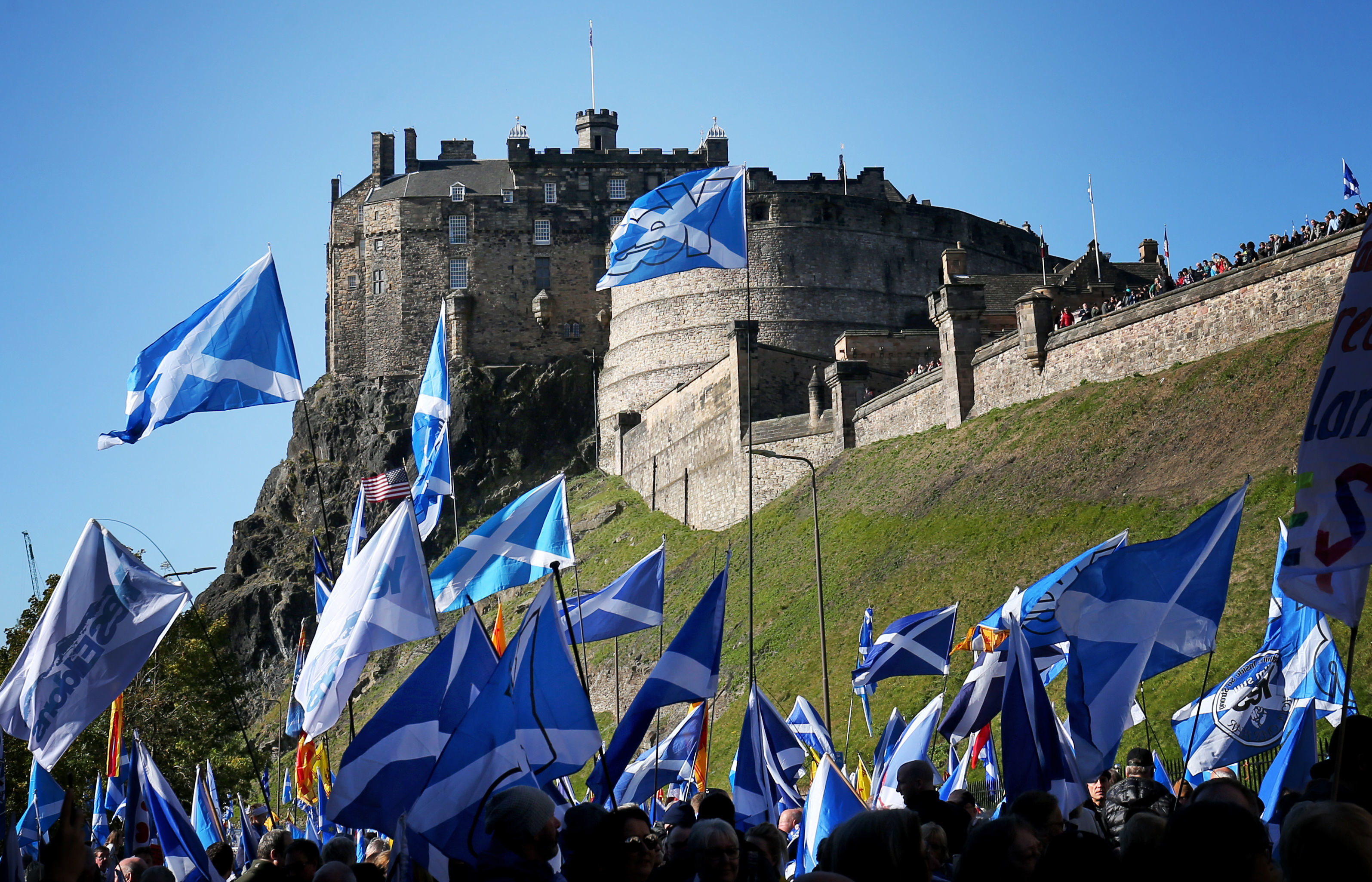 Poll puts support for independence at 50 if Brexit goes ahead