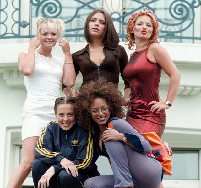 Spice Girls at a film festival