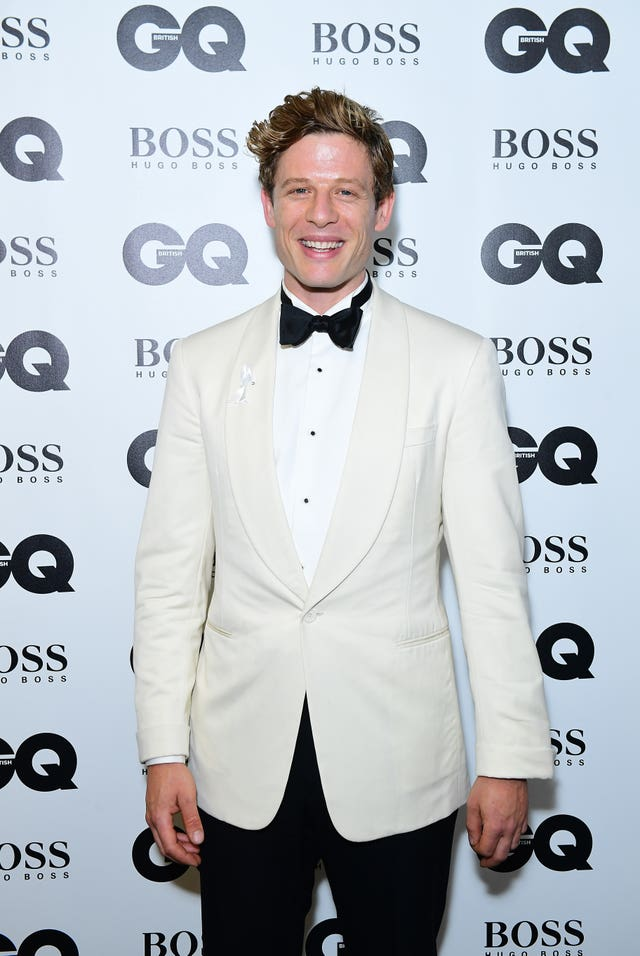 James Norton on the red carpet
