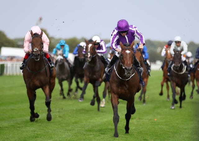 Kew Gardens comes home clear in the St Leger