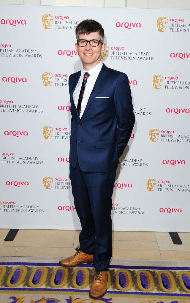 Gareth Malone on the red carpet