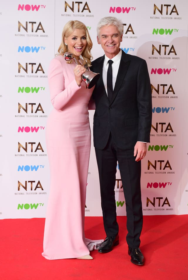 National Television Awards 2017 – Press Room – London