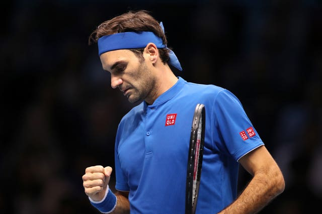 Federer was rarely troubled