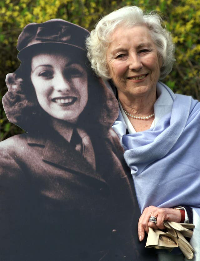 DAME VERA LYNN AT 90 Dame Vera Lynn