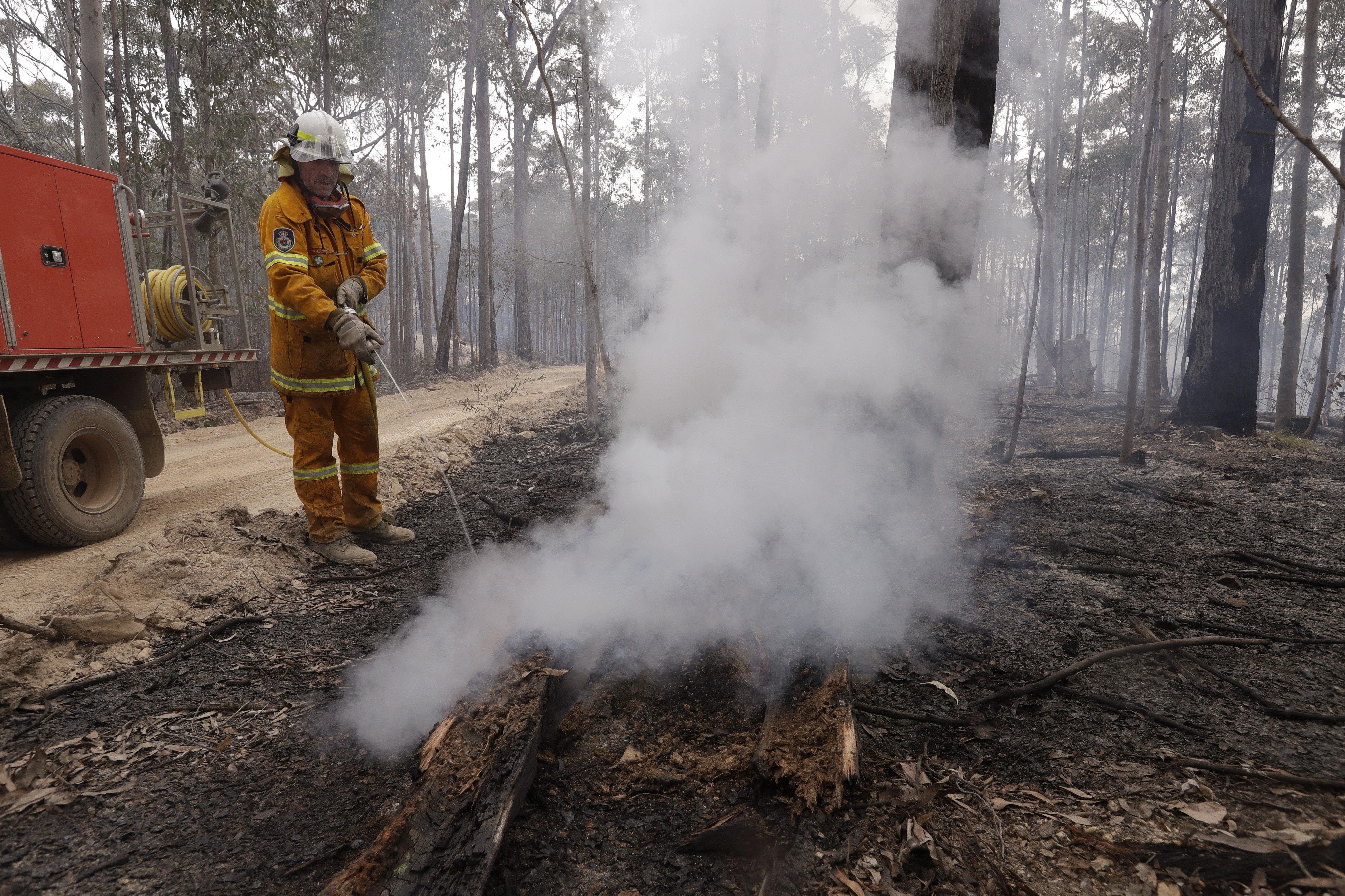 Smoke from Australian wildfires will travel around the globe