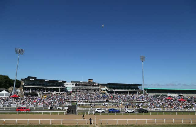 Newcastle will host the first race meeting following the suspension caused by the coronavirus pandemic