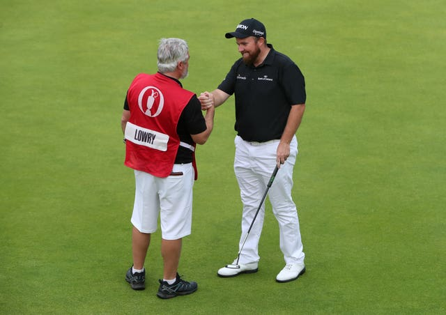 Shane Lowry was determined to revel in the atmosphere