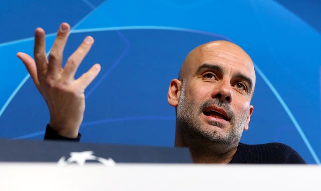 Guardiola has warned nothing can be taken for granted against Schalke